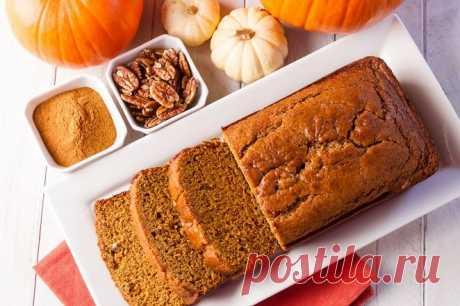 Тыквенный хлеб   Смачно Как приготовить тыквенный хлеб. Рецепт тыквенного хлеба