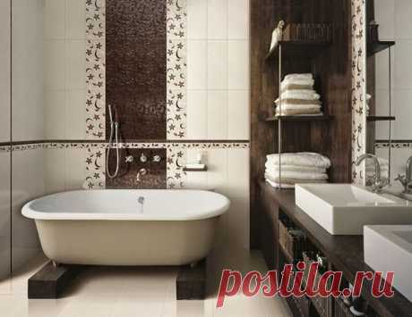 Отделка ванной комнаты — Роскошь и уют