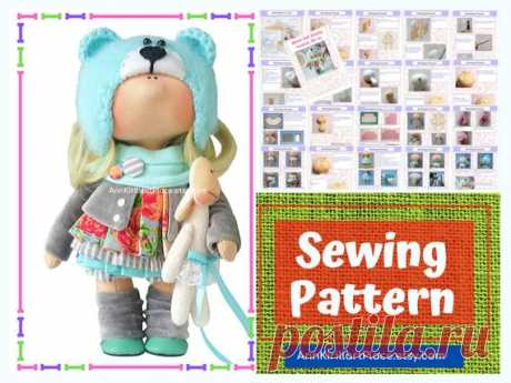 How to Sew Cloth Doll, Handmade Doll Sewing Pattern PDF, Interior Doll Tutorial, Tilda Doll DIY Pattern by Natalia Pe Handmade Doll Sewing Pattern PDF by master Natalia Pe  Pattern uncludes full Doll and Cloth sewing tutorial. ~ ~ ~ ~ ~ ~ ~ ~ ~ ~ ~ ~ ~ ~ ~ ~ ~ ~ ~ ~ ~ ~ ~ ~ Pattern does not include hat and shoes. ~ ~ ~ ~ ~ ~ ~ ~ ~ ~ ~ ~ ~ ~ ~ ~ ~ ~ ~ ~ ~ ~ ~ ~  Pattern is for 24 cm (9 inch) interior doll by master