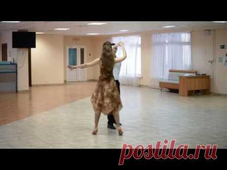 Большой фигурный вальс  Схема танца    The big figured waltz