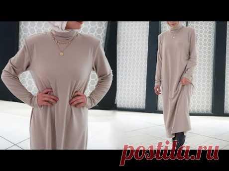 Базовое платье с плечиками / Bespoked.ru