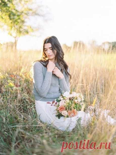 🍂 Осенний образ невесты 🍂