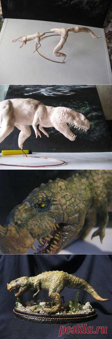 Тиранозавр своими руками   МАСТЕРА