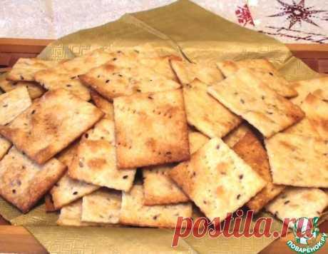 Галетное печенье на заварном тесте – кулинарный рецепт