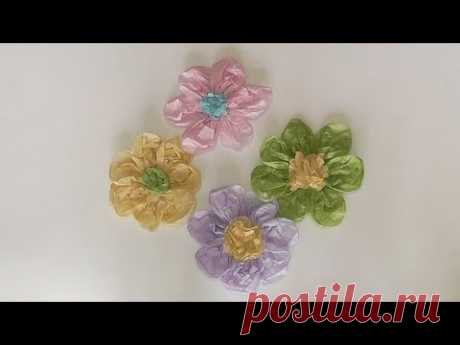 Цветы из тутовой бумаги. Мастер-класс