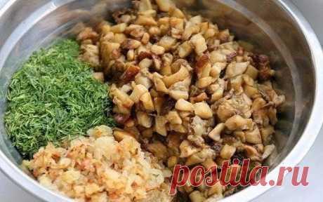 Картофельные пирожки с грибами 🍄