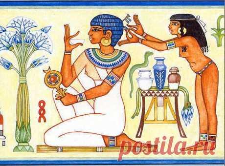 Целебные свойства ароматических масел и веществ были известны в таких древних цивилизациях как Египет и Месопотамия. Отсюда и берет начало история ароматерапии как науки о роли запахов в жизни человека. В Египте ароматические настойки и масла были особенно популярны и использовались для ароматизации помещений, лечения недугов и задабривания богов. Древние египтяне даже носили на голове специальные ароматические конусы, которые распространяли вокруг человека приятный запах, своеобразный прообраз