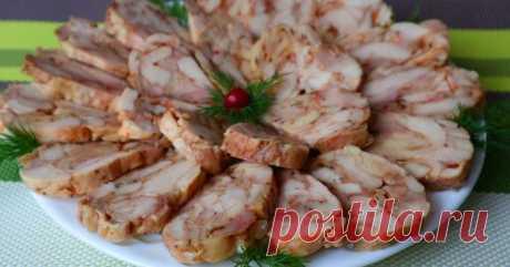 Лучшая мясная закуска за считанные минуты без желатина Вы забудете о колбасе! – Простые советы