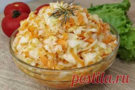 Вкусный Салат из Свежей Капусты — Как в Столовой!