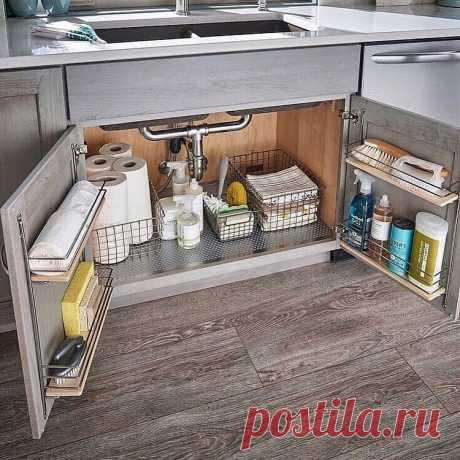 Оригинальные способы организации пространства в шкафу — Полезные советы