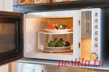 Рекомендации по приготовлению блюд в микроволновой печи