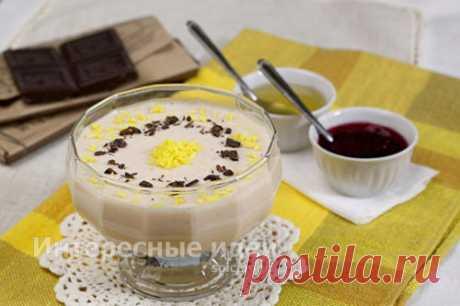 Десерт из ряженки — очень вкусный