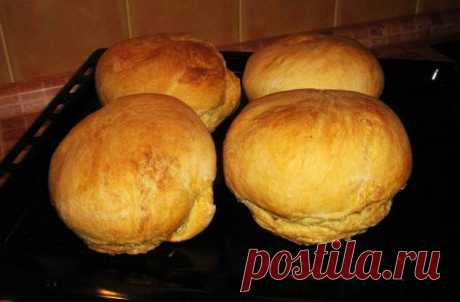 Домашний хлеб в духовке - Приготовкино