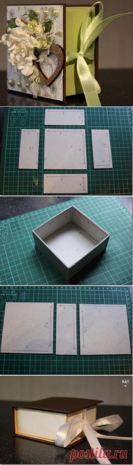 Делаем подарочную коробку...