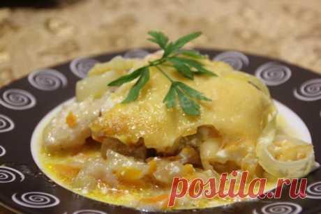 рыба по гречески под сырной шапочкой рецепт с фото пошагово - 1000.menu