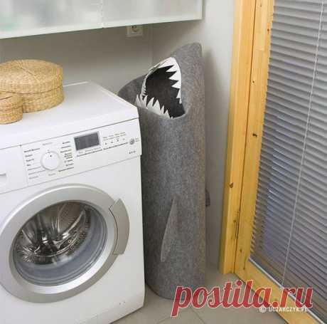 (348) Корзина для грязной одежды   Хранение вещей