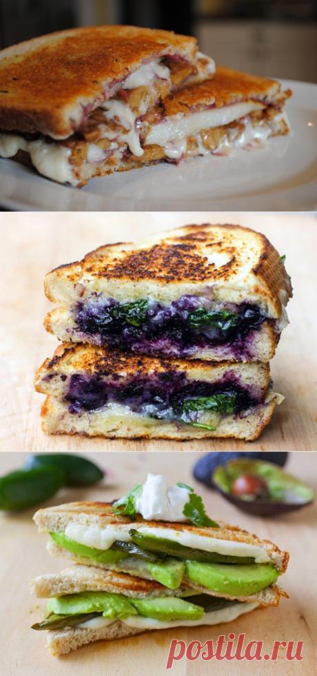 10вкуснейших бутербродов ссыром