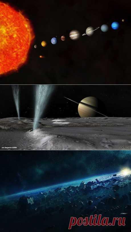 7 потрясающих чудес Солнечной системы | Fresher - Лучшее из Рунета за день