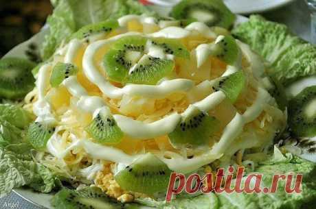 Очень нежный и вкусный салат - Блог Ирина на 24open.ru