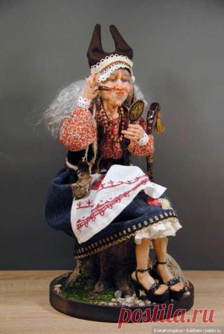 Ягиня на лабутенах / Лепка авторских кукол / Бэйбики. Куклы фото. Одежда для кукол