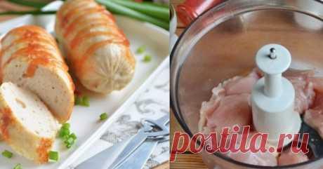 Теперь в магазине даже не подхожу к отделу сосисок: Домашние куриные сосиски – Простые советы