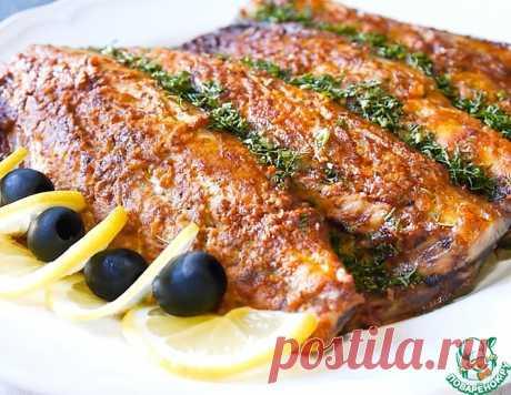 Запеченная скумбрия с паприкой и чесноком – кулинарный рецепт