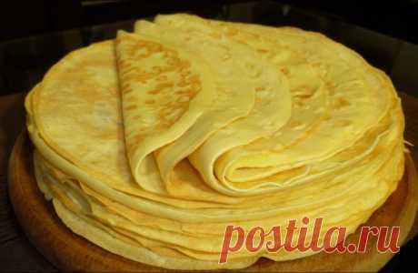 Блины на майонезе. Самый простой и вкусный рецепт блинчиков Делала вчера на ночь. Утром тарелку умяли в пять секунд. В 200 граммах 149 калорий, а вкусно!