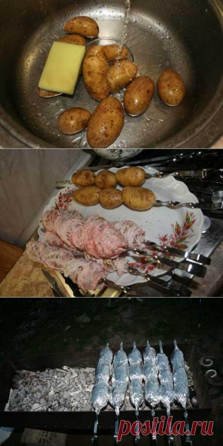 Картошка на мангале | Полезные советы