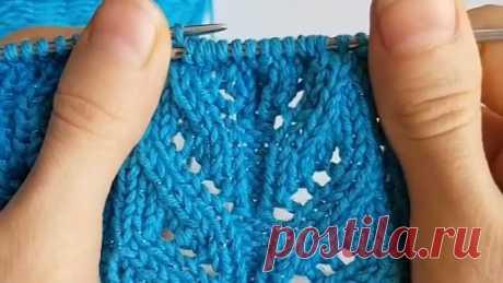 sweet.knitt способ ровно провязать убавки в наклоном влево