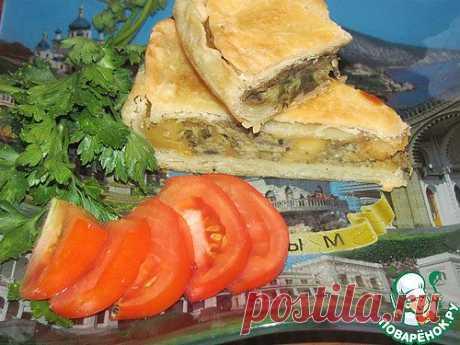 Турецкий пирог с баклажанами. Автор: Татушка77
