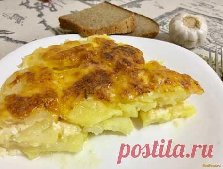 Картофель запечённый в сливочном соусе Дофине рецепт с фото Вкусный рецепт приготовления картофеля запечённого в сливочном соусе дофине в домашних условиях. Картофель запечённый в сливочном соусе Дофине рецепт с фото по шагам