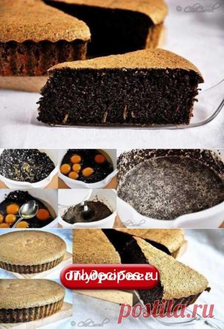 Маковый пирог без муки! НЕЖНЕЙШИЙ ДЕСЕРТ! - Рецепты мира
