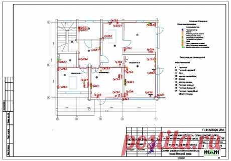 Проект электрики дома пример 568