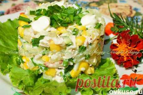 Pineapples and chicken salad - Simple recipes of Овкусе.ру