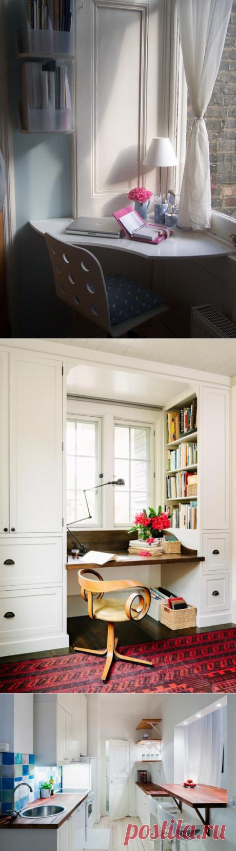Как использовать подоконник не только для цветов — Мой дом