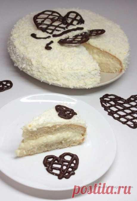 Как приготовить торт-рафаэлло - рецепт, ингридиенты и фотографии