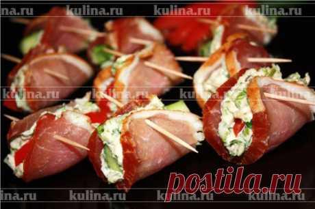 Закуска к новогоднему столу – рецепт приготовления с фото от Kulina.Ru