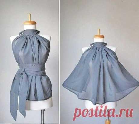 Моделирование простейшей блузки, которая смотрится очень дорого