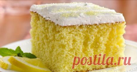Лимонный пирог — десерт, который прийдется по вкусу любителям оригинальной выпечки!