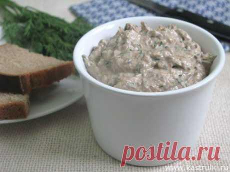 Крем из шпрот с творожным сыром | Кастрюльки.ру