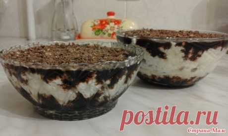 Cottage cheese dessert - Recipes for very busy mother - the Country of Mothers