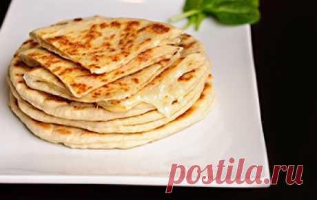 Хачапури на сковороде / Лепешки / TVCook: пошаговые рецепты с фото