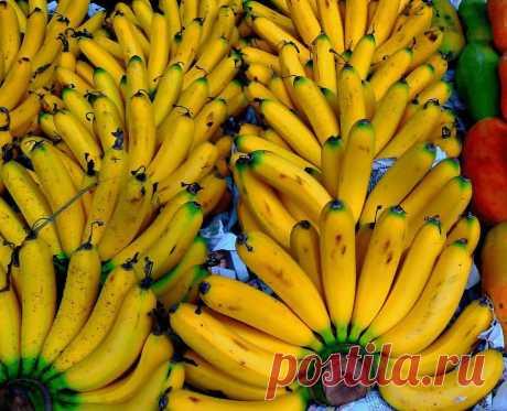 Банан в народной медицине и в быту! » Женский Мир