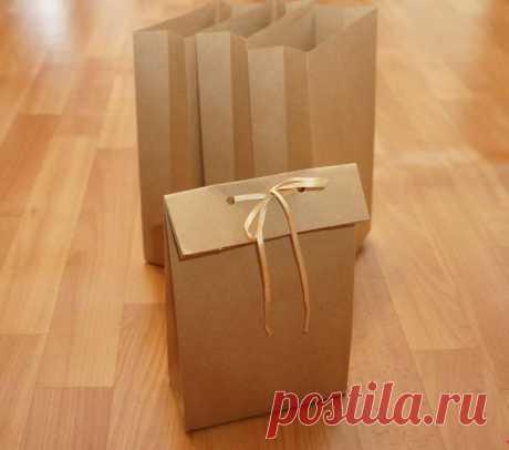 Подарочный пакетик своими руками без выкройки — Сделай сам, идеи для творчества - DIY Ideas