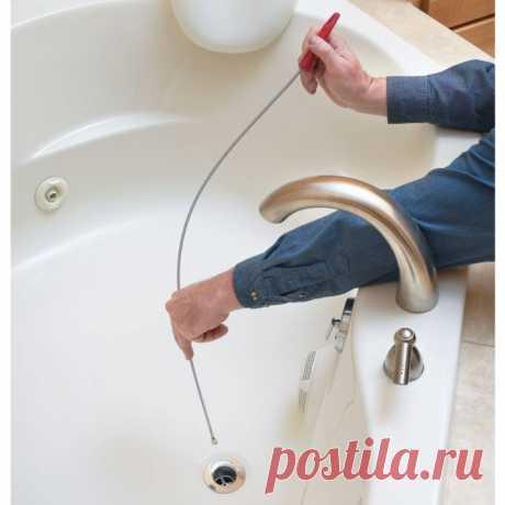 Как прочистить засор в раковине на кухне, в ванной, в душевой кабине, в трубах и в унитазе
