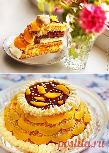 """Торт """"Три желания"""" / Рецепты с фото"""