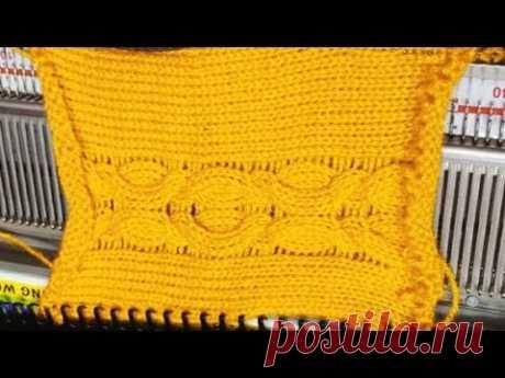Knitting pattern in knitting machine #159 (निटिंग मशीन में निटिंग डिजाइन # 159)