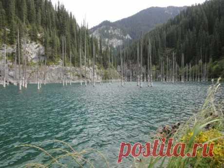озеро в Казахстане.