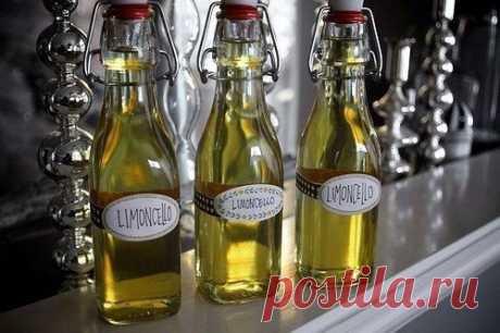Как приготовить домашнее лимончелло - рецепт, ингредиенты и фотографии