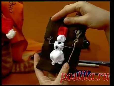 Новорождённый снеговик